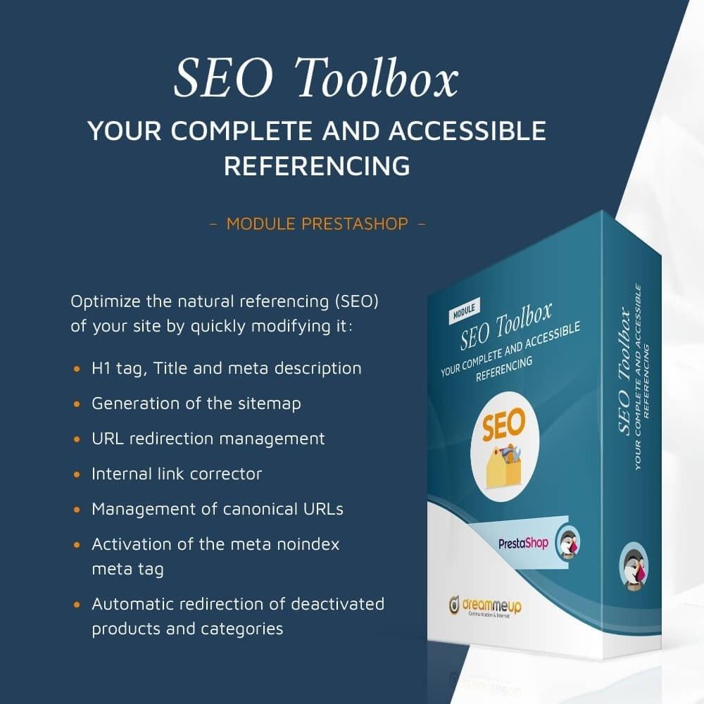 module - SEO (Indicizzazione naturale) - DMU SEO Toolbox: All-in-one SEO - 1