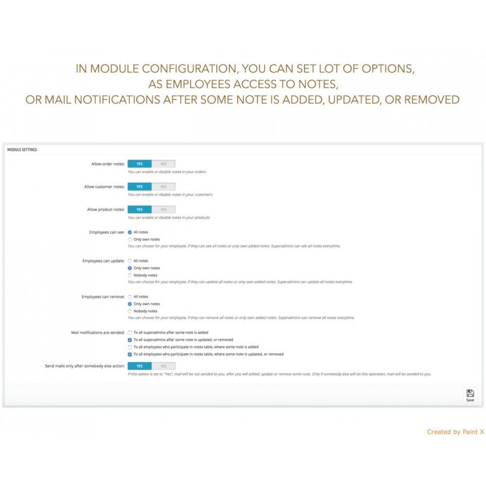 module - Procedury składania zamówień - Zaawansowane notatki do zamówień, produktów i klientów - 4