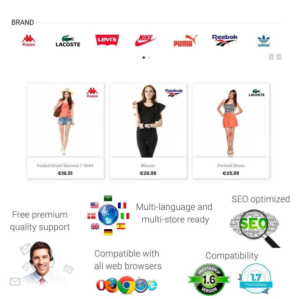 module - Marcas y Fabricantes - Partners Manufacturers Brand Logo Slider & Gallery - 1