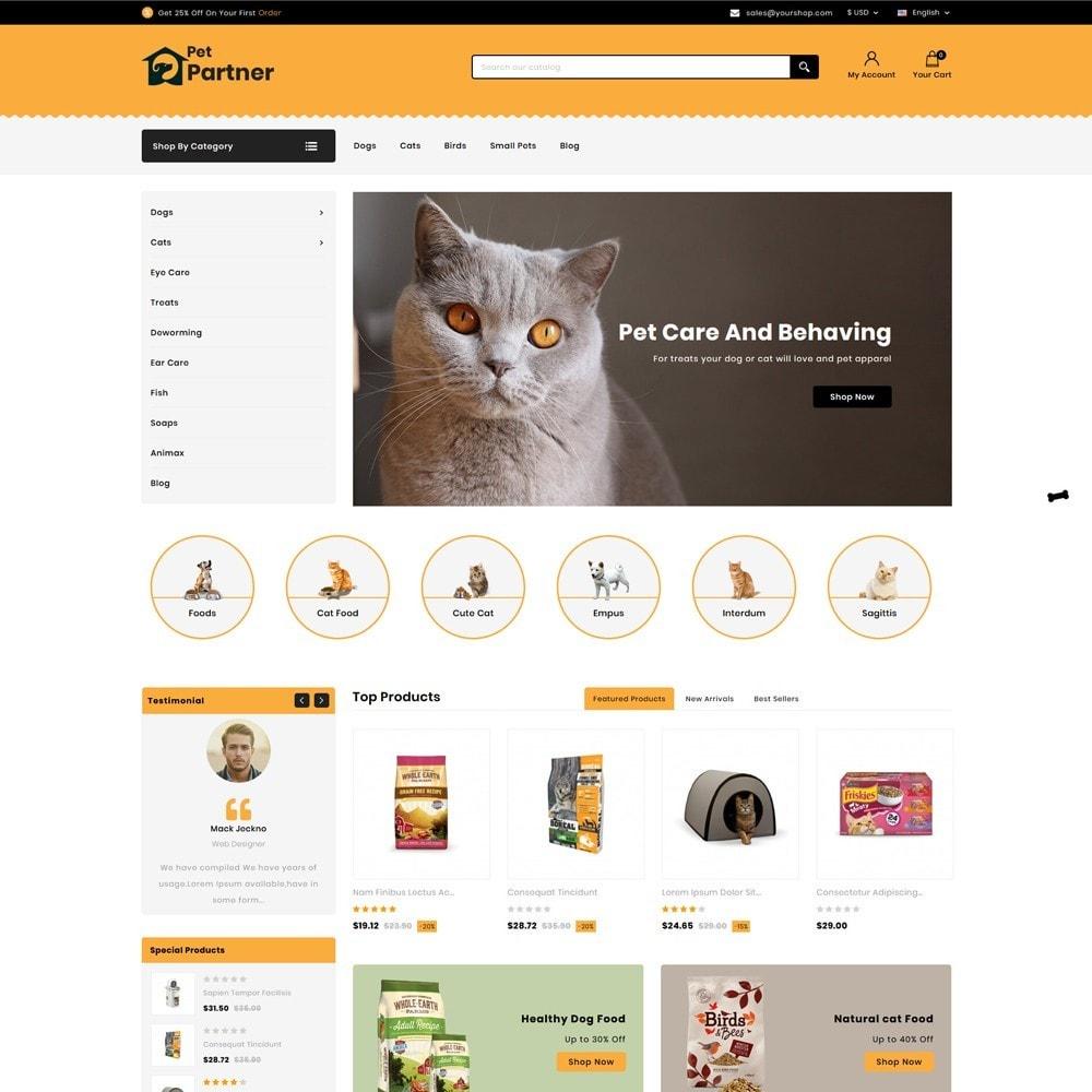 theme - Animals & Pets - Pets Partner Store - 2