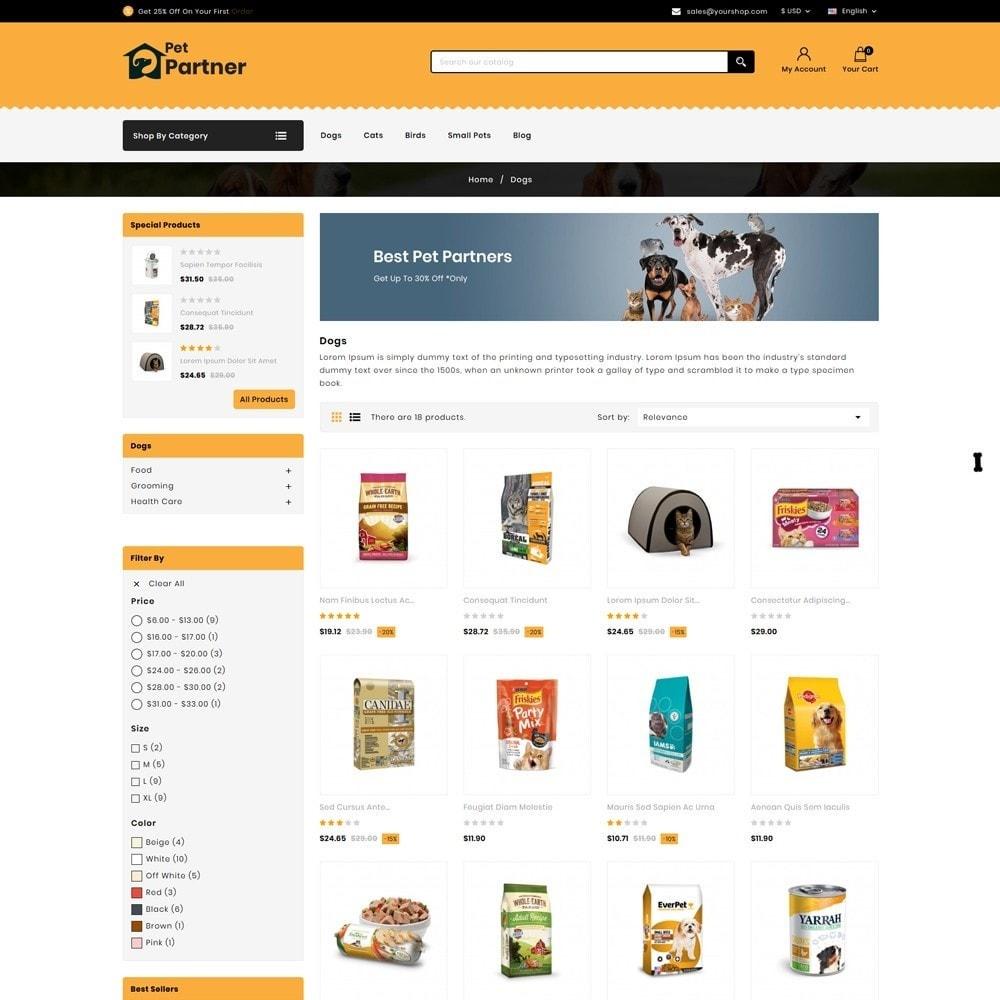 theme - Animals & Pets - Pets Partner Store - 3