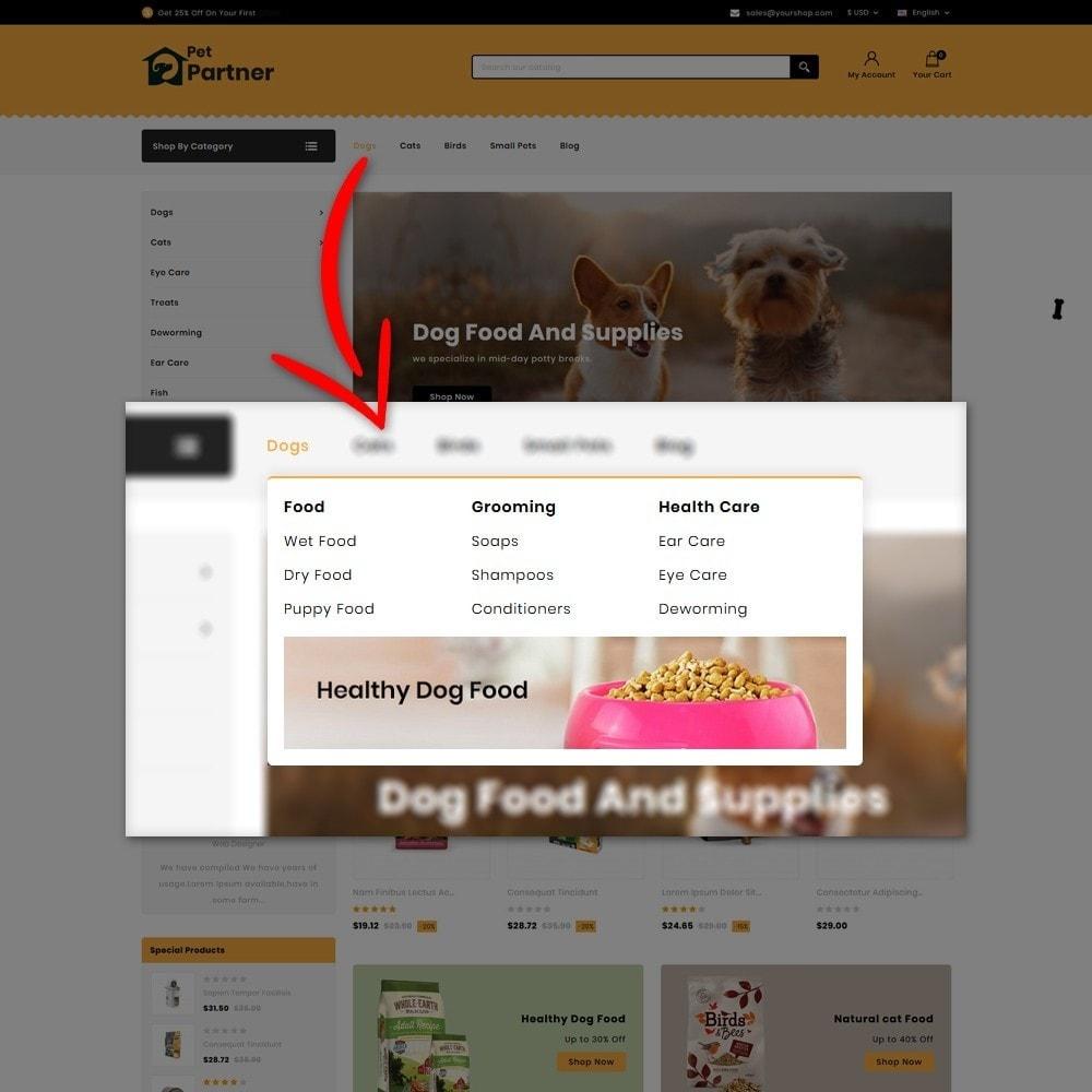 theme - Animals & Pets - Pets Partner Store - 6