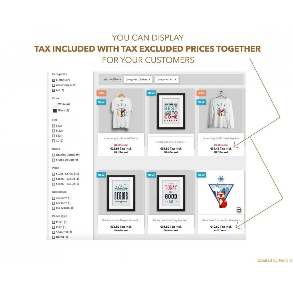 module - Gestión de Precios - Visualización dual de precios con/sin impuesto - 1