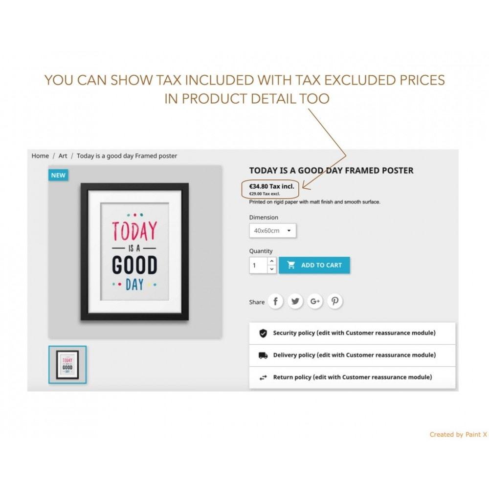 module - Gestión de Precios - Visualización dual de precios con/sin impuesto - 2