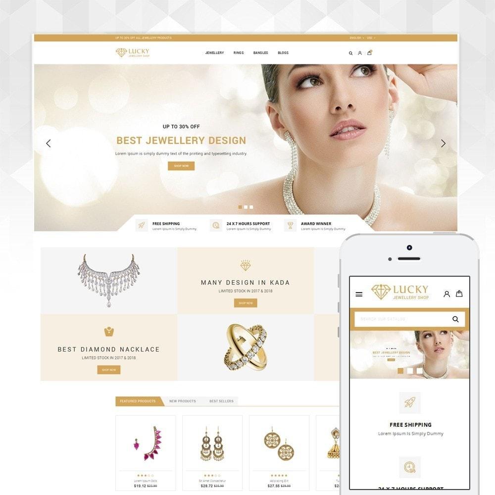 theme - Ювелирные изделия и Аксессуары - Lucky - The Jewelry shop - 1