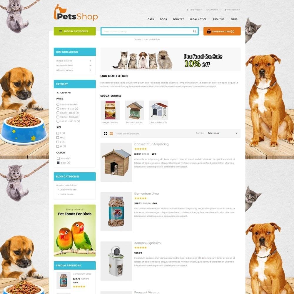 theme - Animals & Pets - Petsshop - The Animal Store - 4