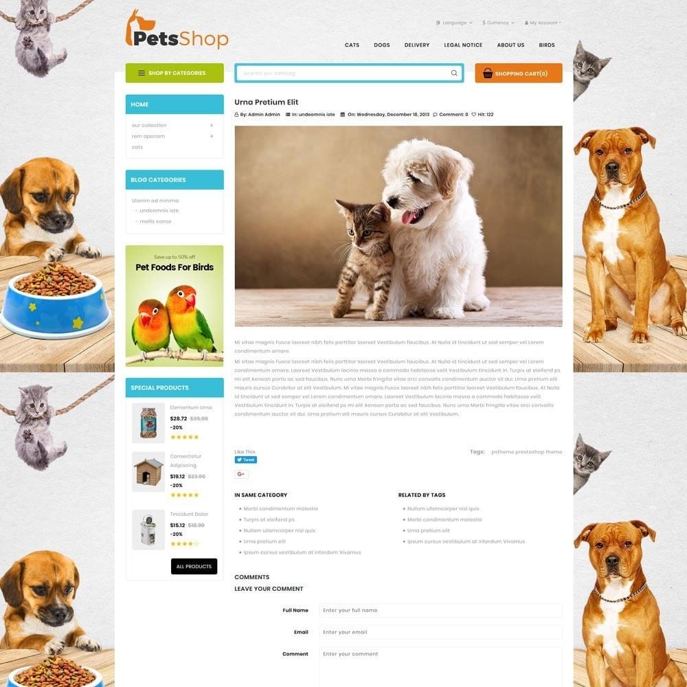 theme - Animals & Pets - Petsshop - The Animal Store - 7