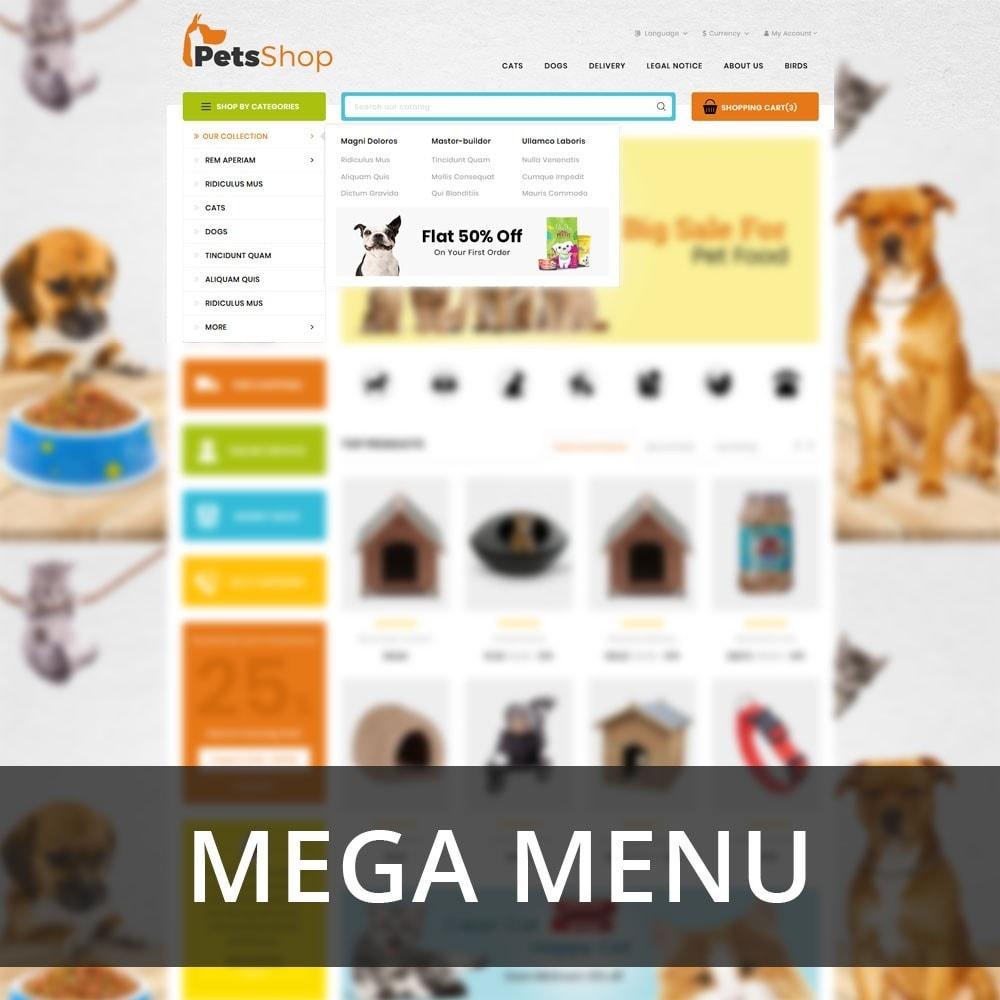 theme - Animals & Pets - Petsshop - The Animal Store - 9