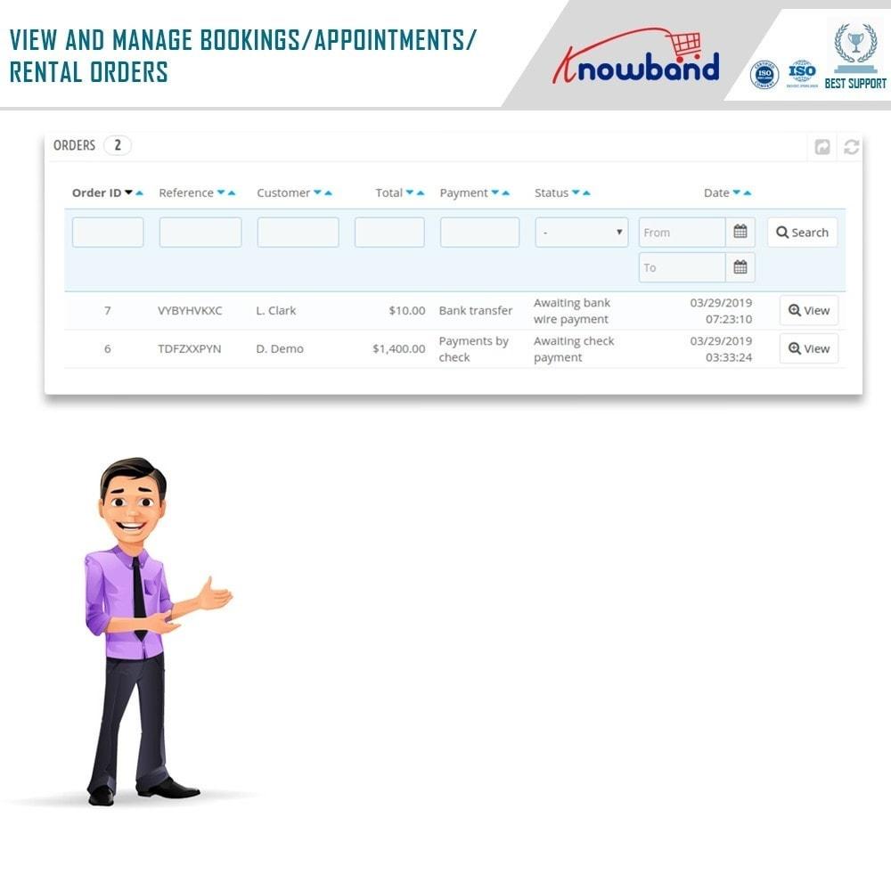 module - Reservierungen & Vermietung - Knowband - Booking and Rental System - 22