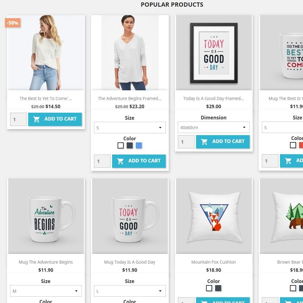 module - Bundels & Personalisierung - Show Attribute combinations in products list - 3
