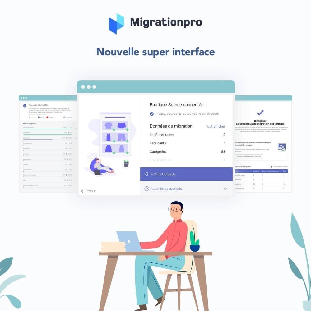 module - Migration de Données & Sauvegarde - Outil de migration PrestaShop – Passez à PrestaShop 1.7 - 6