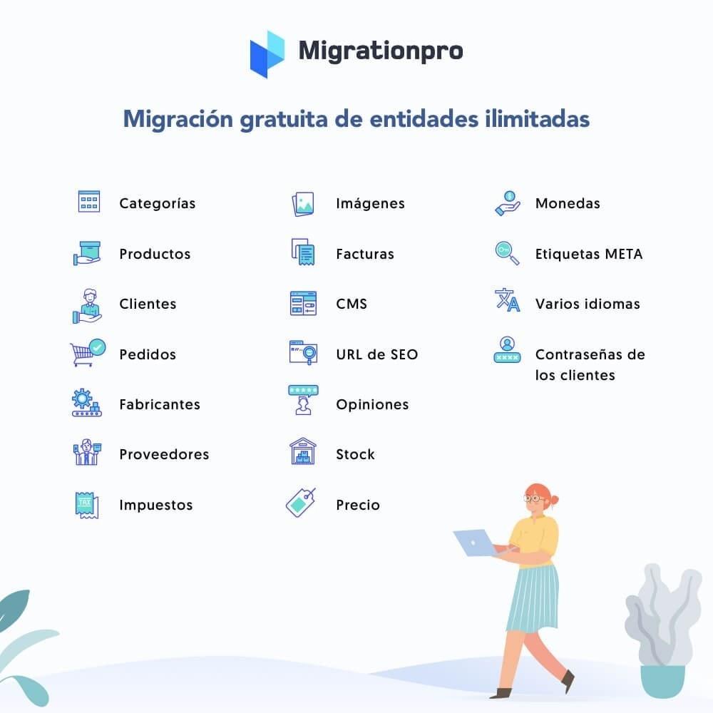 module - Migración y Copias de seguridad - Actualización de Prestashop y herramienta de migración - 2