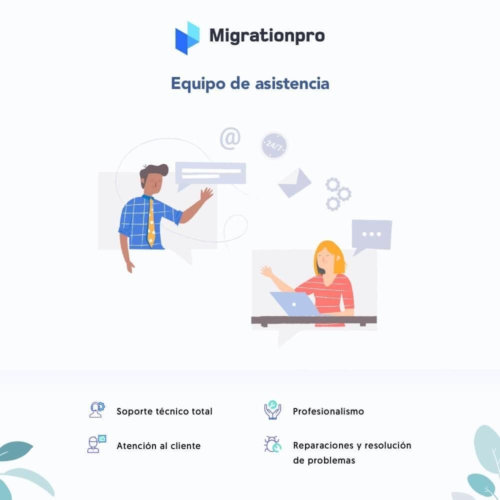 module - Migración y Copias de seguridad - Actualización de Prestashop y herramienta de migración - 8
