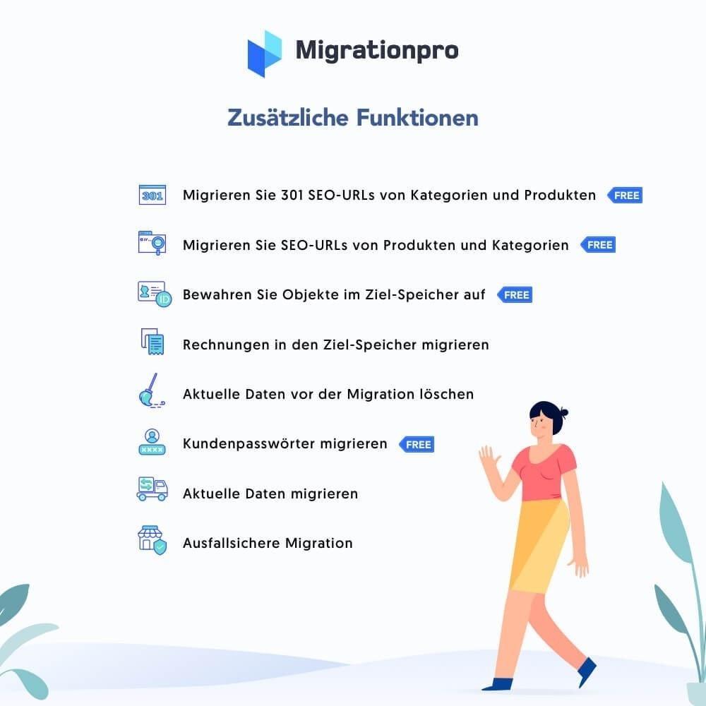 module - Datenmigration & Backup - MigrationPro: Prestashop Upgrade und Migrationstool - 5