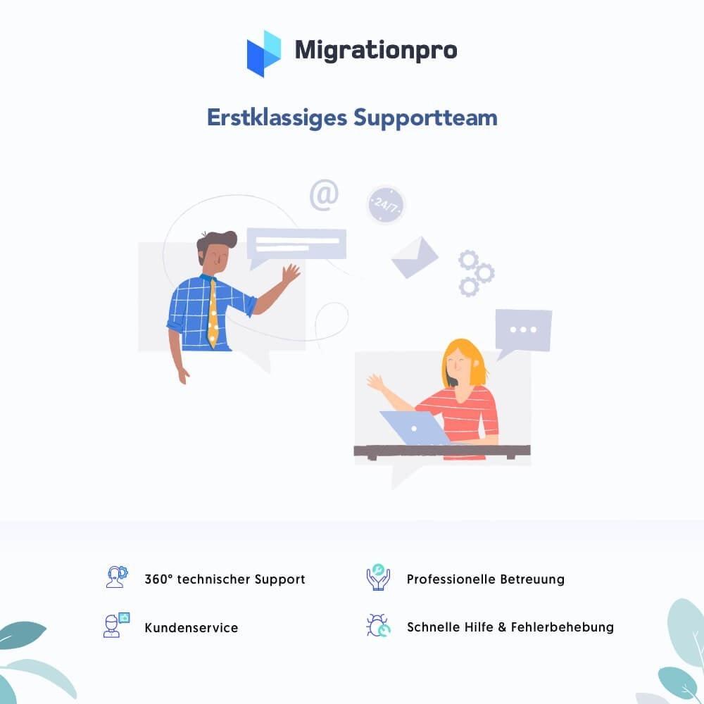 module - Datenmigration & Backup - MigrationPro: Prestashop Upgrade und Migrationstool - 8