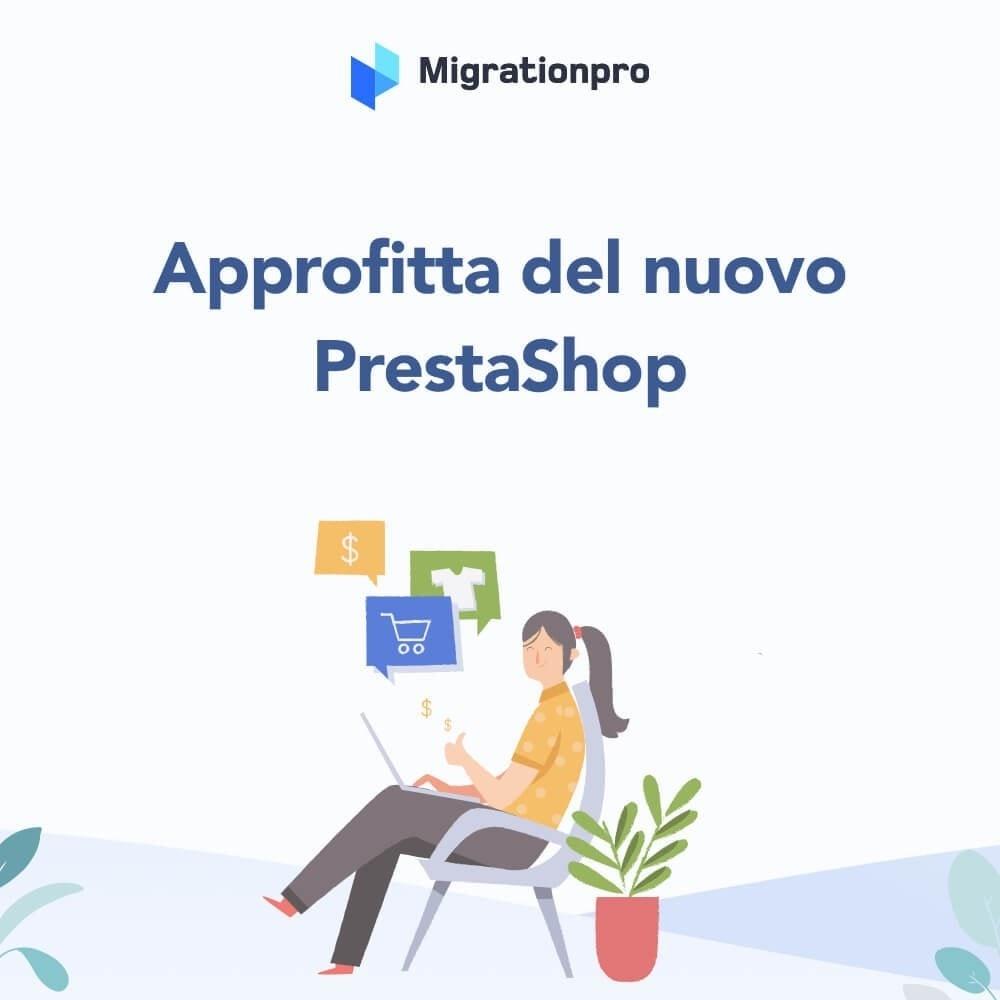 module - Data Migration & Backup - Tool di Aggiornamento e Migrazione di Prestashop - 10