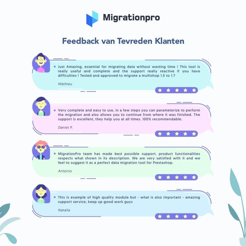 module - Migratie & Backup - MigrationPro: upgrade- en Migratietool voor Prestashop - 9
