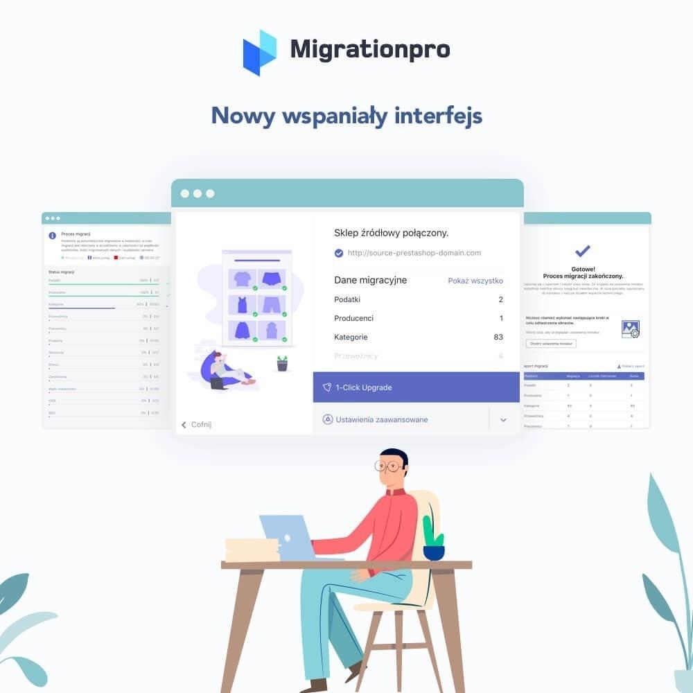 module - Migracja & Backup - Narzędzie Prestashop do Aktualizacji i Migracji - 6