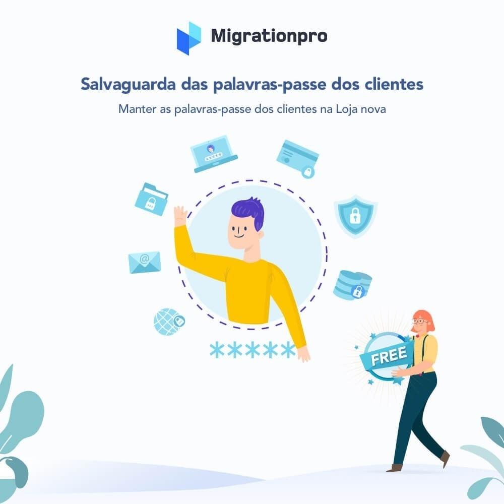 module - Migração de Dados & Registro - Upgrade PrestaShop e ferramenta de Migração - 4