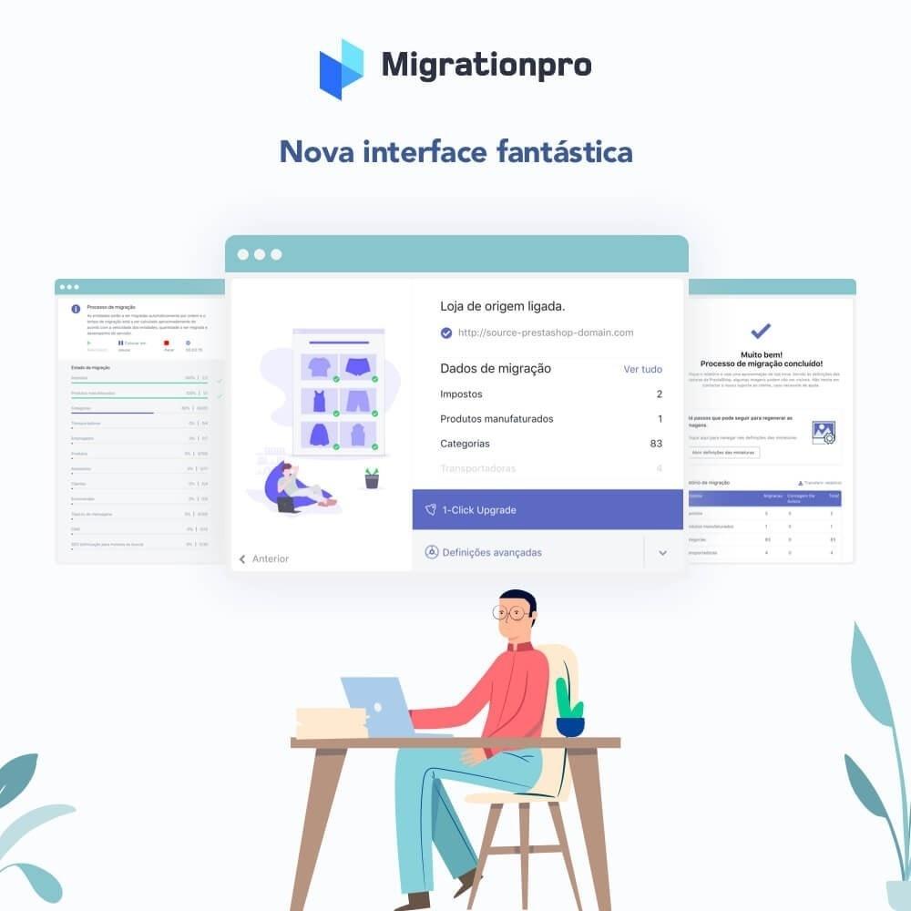 module - Migração de Dados & Registro - Upgrade PrestaShop e ferramenta de Migração - 6