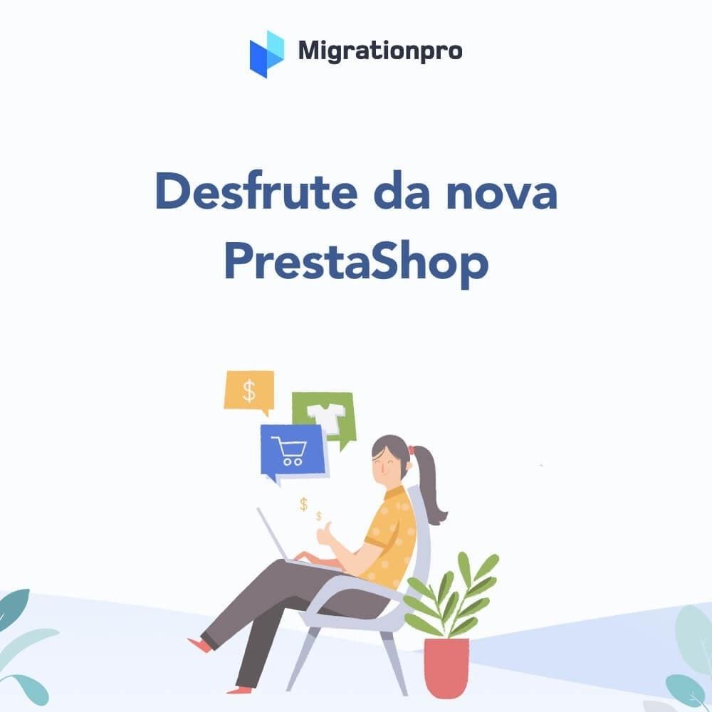 module - Migração de Dados & Registro - Upgrade PrestaShop e ferramenta de Migração - 10