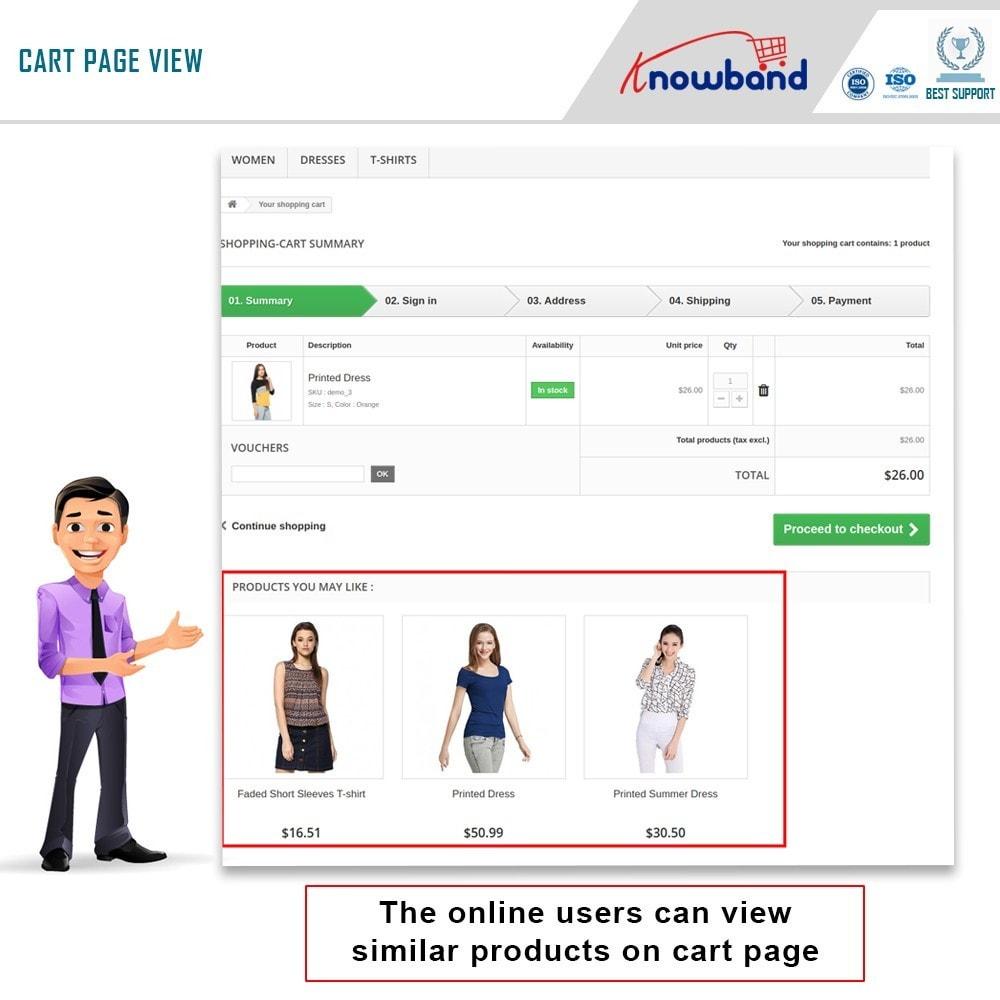 module - Cross-Selling & Produktbundles - Knowband - Automatisch verwandte Produkte - 2