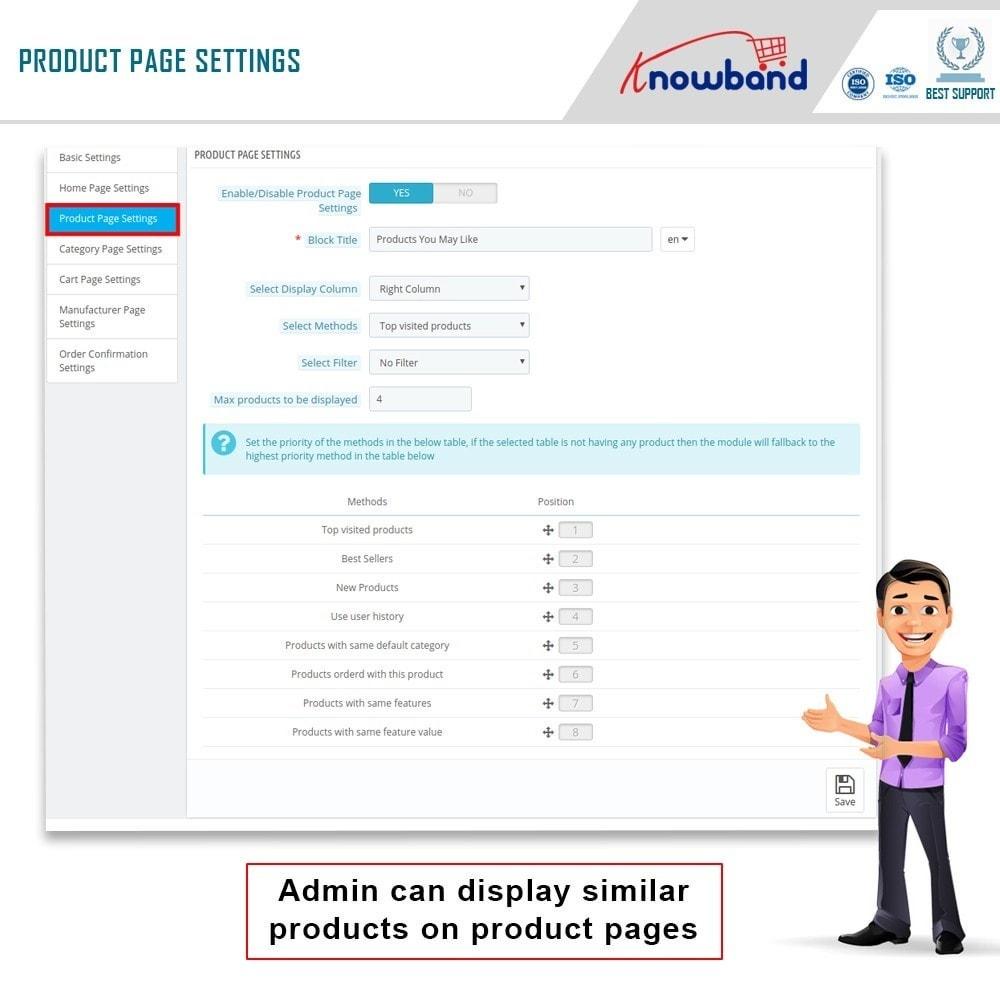 module - Cross-Selling & Produktbundles - Knowband - Automatisch verwandte Produkte - 5