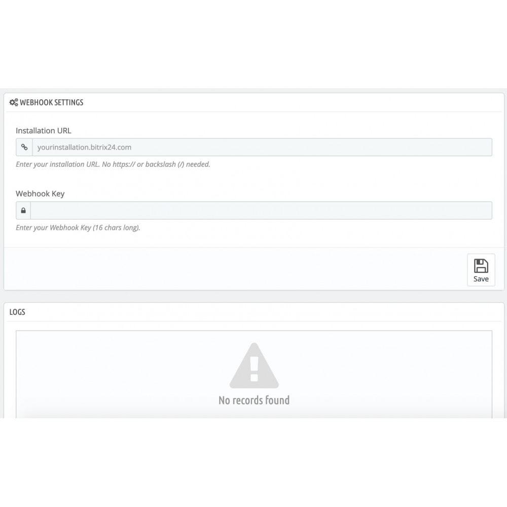 module - Соединение с внешней программой (CRM, ERP...) - Bitrix24 Integration - 3
