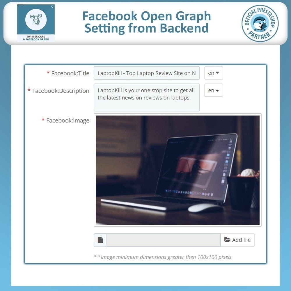 module - Social Widgets - SEO Open Graphs Tags Social Media - 4