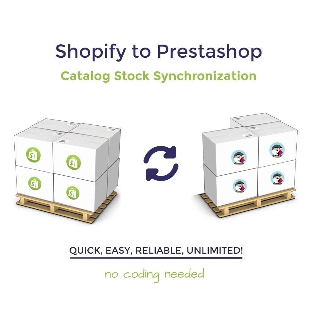 module - Migração de Dados & Registro - Shopify to PrestaShop Catalog Synchronization & Import - 1