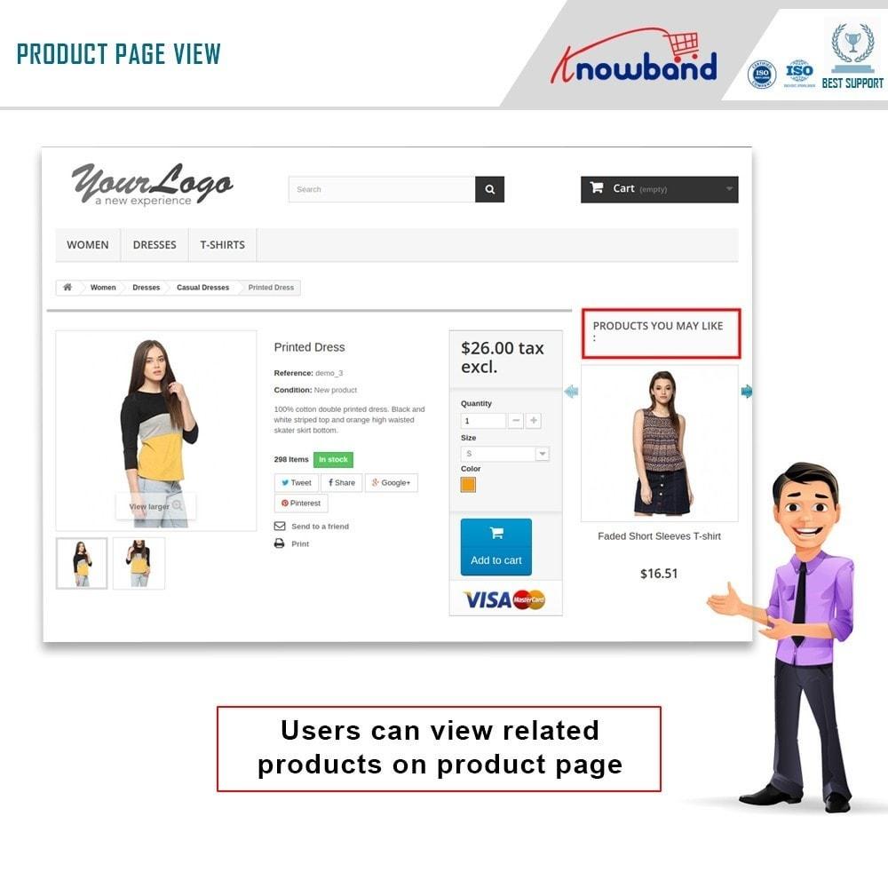 module - Cross-selling & Product Bundle - Knowband - Prodotti  correlati  automatici - 1