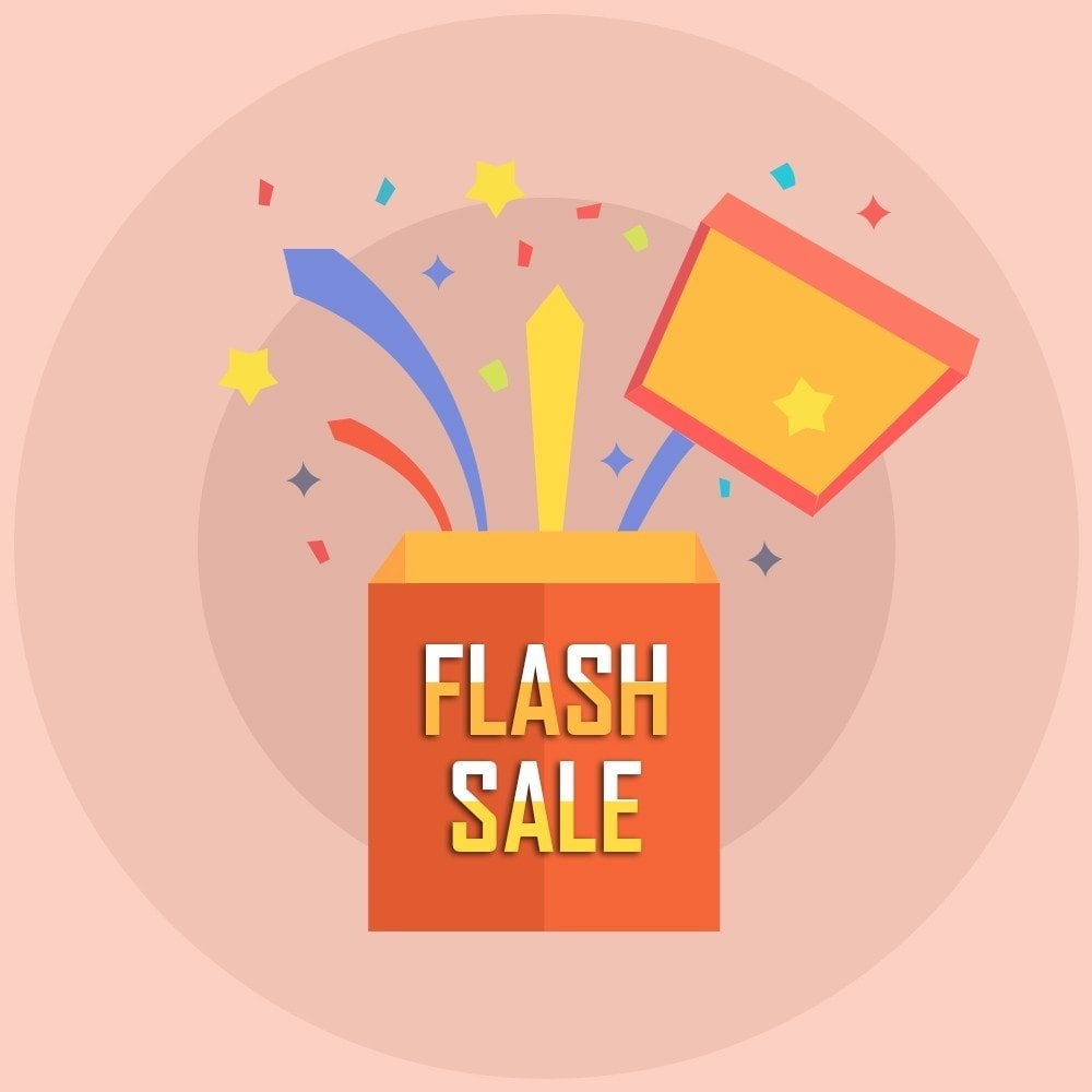 module - Flash & Private Sales - Knowband - Flash Sale Countdown Timer - 1
