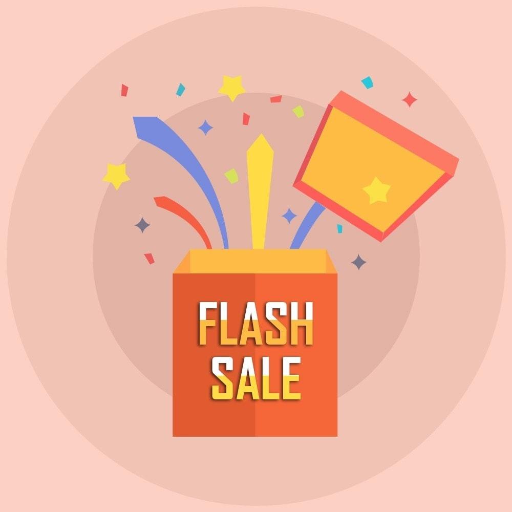 module - Ventas Privadas y Ventas Flash - Knowband - Contador de cuenta regresiva de venta flash - 1