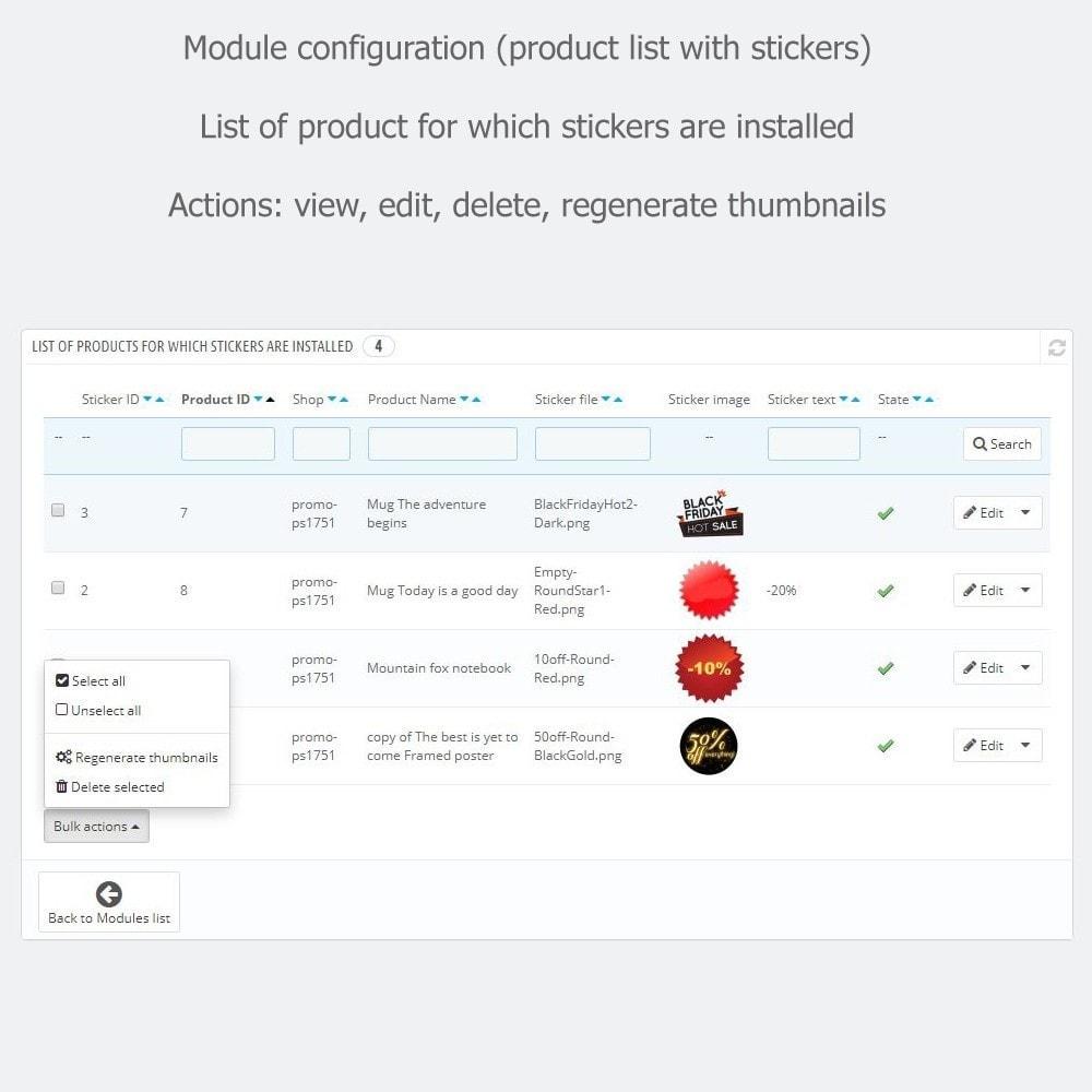 module - Etiquetas y Logos - Promotional Stickers - 5