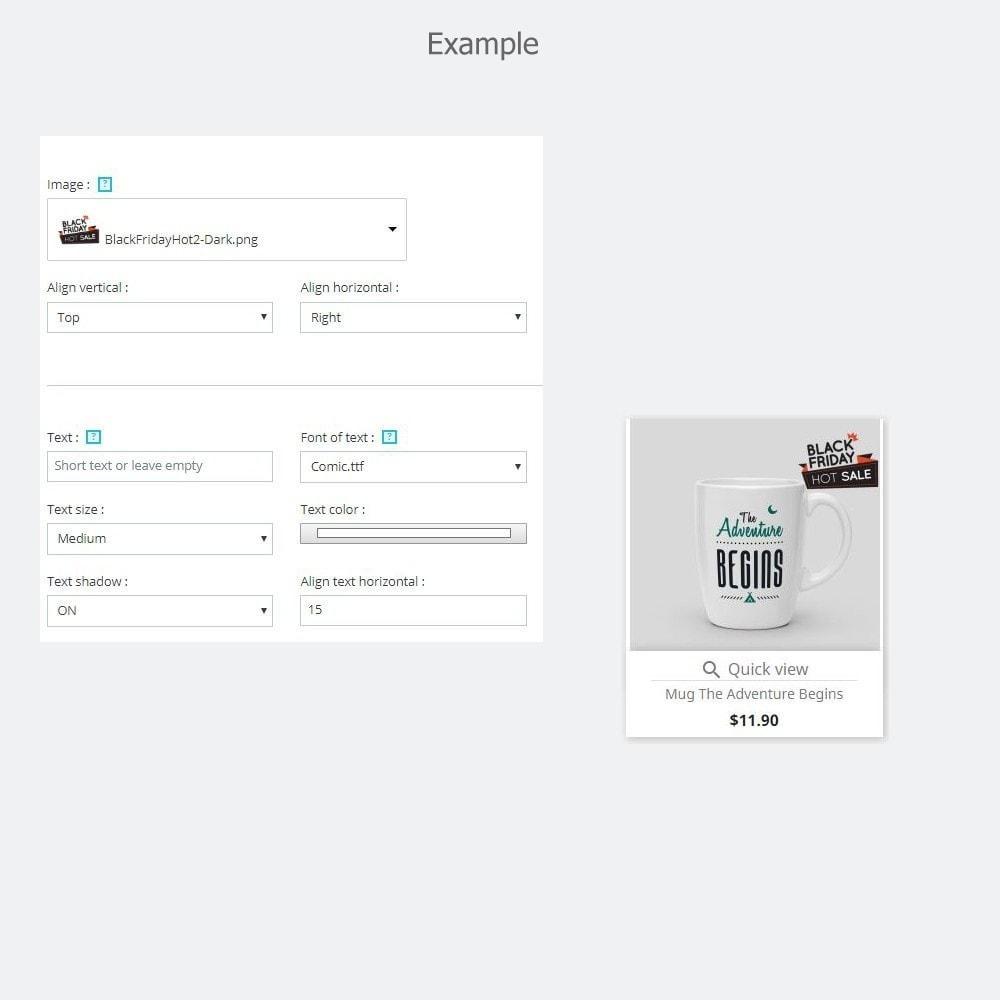module - Etiquetas y Logos - Promotional Stickers - 9