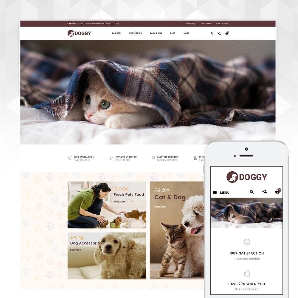 theme - Животные и домашние питомцы - Doggy - Pets Store - 1