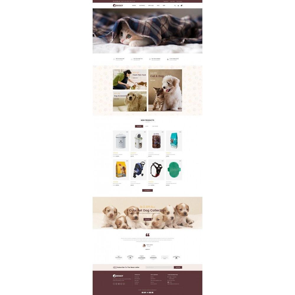 theme - Животные и домашние питомцы - Doggy - Pets Store - 2