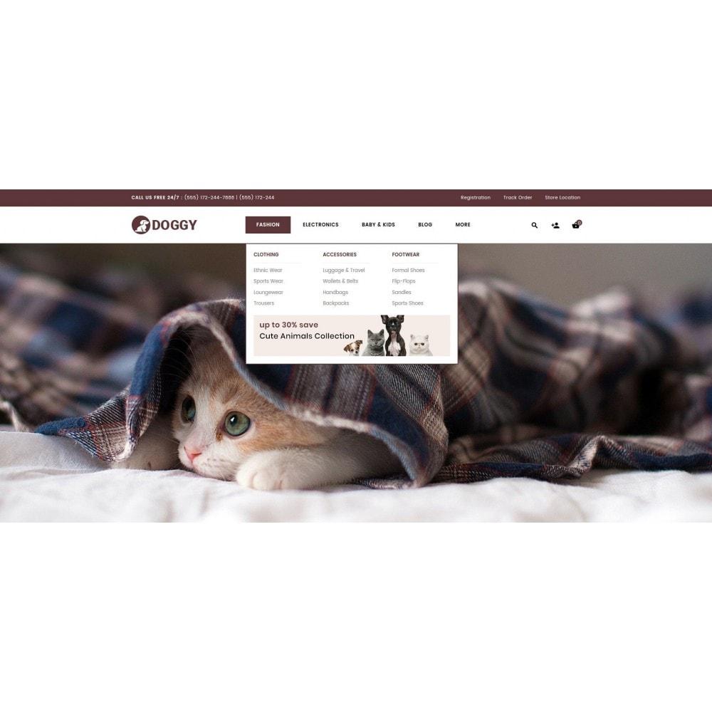 theme - Животные и домашние питомцы - Doggy - Pets Store - 6
