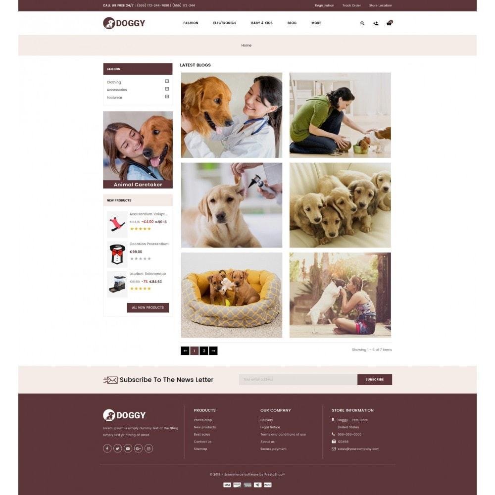 theme - Животные и домашние питомцы - Doggy - Pets Store - 9