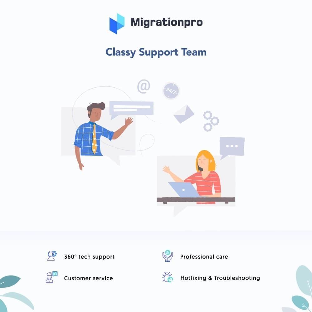 module - Migration de Données & Sauvegarde - MigrationPro: HikaShop to PrestaShop Migration tool - 8