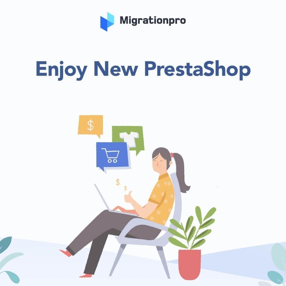 module - Migración y Copias de seguridad - MigrationPro: osCommerce to PrestaShop Migration Tool - 10