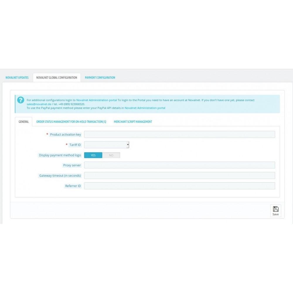 module - Paiement par Carte ou Wallet - Novalnet Payment - 3