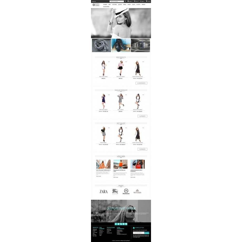 theme - Мода и обувь - Fashion Store - 3