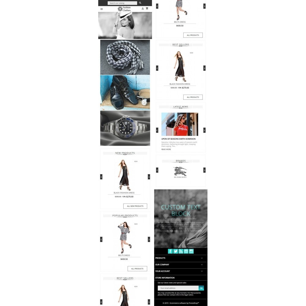 theme - Мода и обувь - Fashion Store - 4
