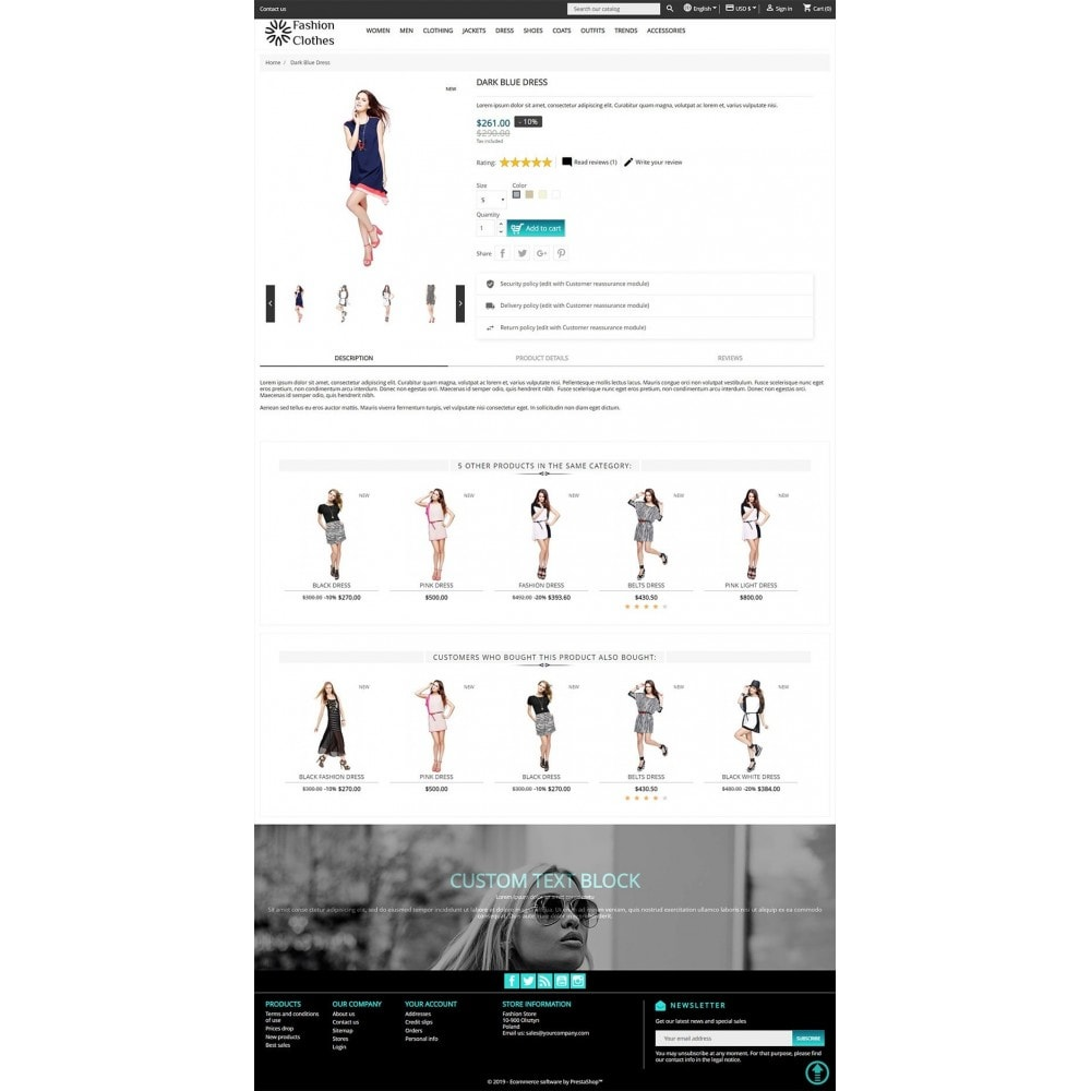 theme - Мода и обувь - Fashion Store - 5
