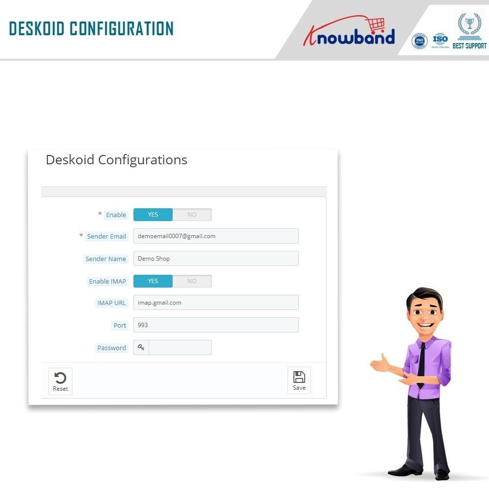 module - Serwis posprzedażowy - Knowband - Deskoid Helpdesk - 6