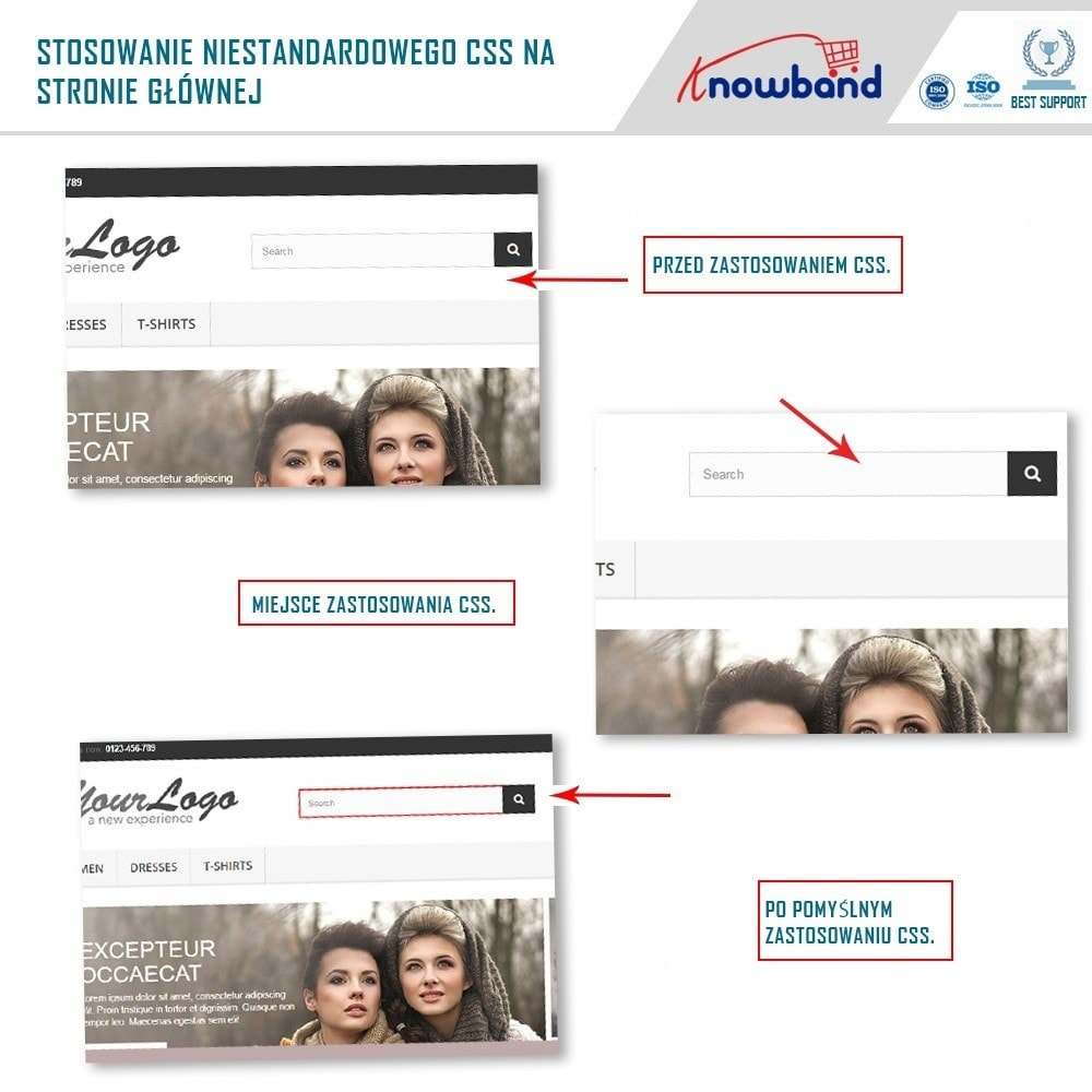 module - Personalizacja strony - Knowband - Custom CSS and JS - 5