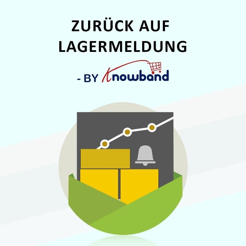module - E-Mails & Benachrichtigungen - Knowband- Wieder-auf-Lager-Benachrichtigungen - 1