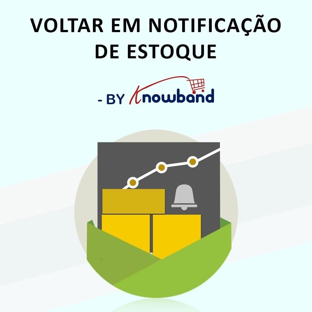module - E-mails & Notícias - Knowband - Notificação de Produto em Estoque - 1