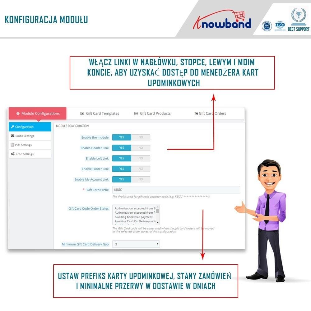 module - Lista życzeń & Karta podarunkowa - Knowband - Gift card manager - 2